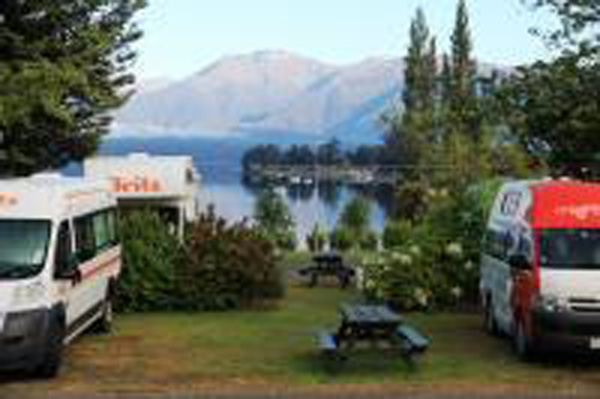 Te Anau Lakeview Kiwi Holiday Park and M