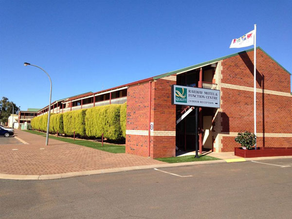 Quality Inn Railway Motel & Functio